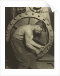 Mechanic and Steam Pump by Lewis Wickes Hine
