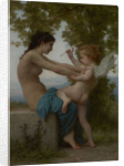A Young Girl Defending Herself against Eros by William-Adolphe Bouguereau