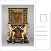 Cabinet on stand with medallions after Jean Varin by Andre Charles Boulle