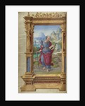 Saint Paul from the Getty Epistles by Master of the Getty Epistles