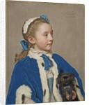 Portrait of Maria Frederike van Reede-Athlone at Seven Years of Age by Jean-Etienne Liotard