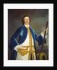 Unidentified British naval officer by John Wollaston