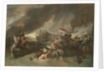 The Battle of La Hogue by Benjamin West