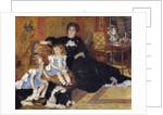 Madame Georges Charpentier and her Children by Pierre Auguste Renoir