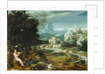 Landscape with Orpheus by Flemish School