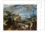 Landscape with Mercury and Argus by Flemish School
