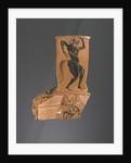 Athenian Attic black-figure Nikosthenic amphora fragment by Greek