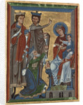 Adoration of the Magi from Psalter by German School