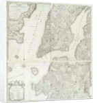 Plan of the city of New York in North America surveyed in the years 1766 & 1767 published in Faden's Atlas by William Faden