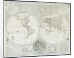 A general map of the world or terraqueous globe by Samuel Dunn by English School