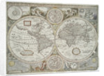 A new and accurate map of the world by John Speed