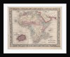 Map of Africa showing its most recent discoveries with the Island of St. Helena inset from Mitchell's new general atlas by American School