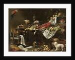 Banquet Still Life, 1644 by Adriaen van Utrecht