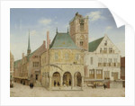 The Old Town Hall of Amsterdam, 1657 by Pieter Jansz Saenredam