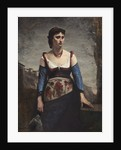 Agostina by Jean Baptiste Camille Corot