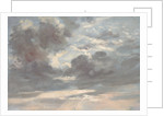 Cloud Study: Stormy Sunset by John Constable