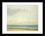 Calm Sea by Gustave Courbet
