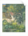 House of Père Lacroix by Paul Cezanne