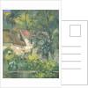 House of Père Lacroix by Paul Cezanne