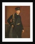 Achille De Gas in the Uniform of a Cadet by Edgar Degas