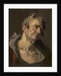 Head of an Old Man by Abraham Bloemaert