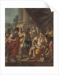 Alexander Condemning False Praise by Francesco de Mura