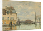 Flood at Port-Marly by Alfred Sisley