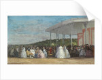 Concert at the Casino of Deauville by Eugene Louis Boudin