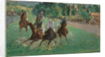 At the Races by Edouard Manet