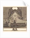 Le concert mecanique, engraving by Joseph de Longueil by Charles Joseph Dominique Eisen