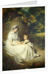 Lady Mary Templetown and Her Son by Sir Thomas Lawrence