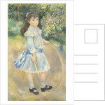 Girl with a Hoop by Pierre Auguste Renoir