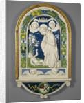 Adoration of the Child by Andrea Della Robbia