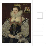 Frances, Lady Brydges, 1579 by John the Younger Bettes