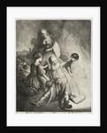 Lot and His Daughters by Jan Georg van Vliet
