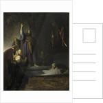 The Raising of Lazarus by Rembrandt Harmensz. van Rijn