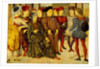 Fragment from a Cassone Panel 'Shooting at Father's Corpse', c.1462 by Marco Zoppo