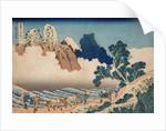 Mount Fuji Seen from the Minobu River by Katsushika Hokusai