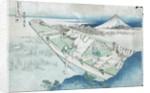 Joshu, Ushibori, Hetachi Provinces by Katsushika Hokusai