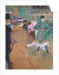 Quadrille at the Moulin Rouge by Henri de Toulouse-Lautrec
