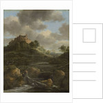 Bentheim Castle by Jacob Isaaksz. or Isaacksz. van Ruisdael