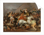 The Second of May, 1808 or The Charge of the Mamelukes, 1814 by Francisco Jose de Goya y Lucientes