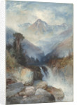 Hot Springs of the Yellowstone by Thomas Moran