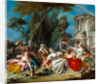 The Bird Catchers by Francois Boucher