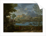Landscape with a Calm by Nicolas Poussin