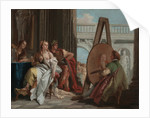 Alexander the Great and Campaspe in the Studio of Apelles by Giovanni Battista Tiepolo