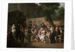 Entrance to the Jardin Turc by Louis Leopold Boilly