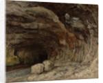 Grotto of Sarrazine near Nans-sous-Sainte-Anne by Gustave Courbet