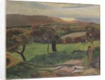 Landscap by Paul Gauguin