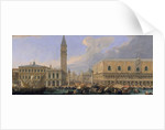 The Molo, Venice by Luca Carlevaris